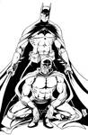 Batman y Blue Demon