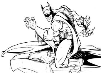 Dedicated Batman by nebrag