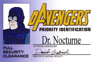 DAvengers Card - Dr Nocturne by ratwood42