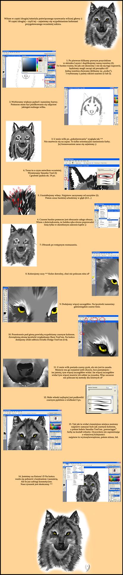 Wolf Head Tutorial part 2 by Pioe