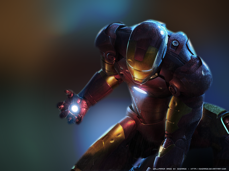IRON MAN Wallpaper By Sherade