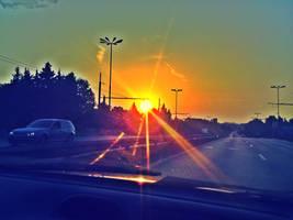 sunset .. by skreenxxx