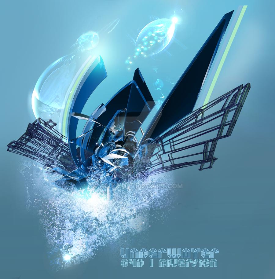 Underwater c4d by Drugi