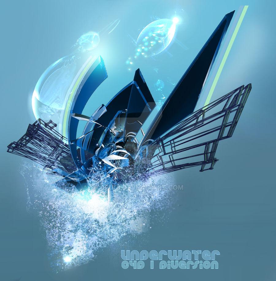 Underwater c4d