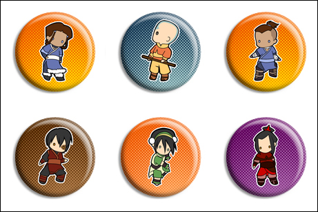 Avatar Buttons by Maxx-V