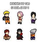 Naruto: Keychain Templates