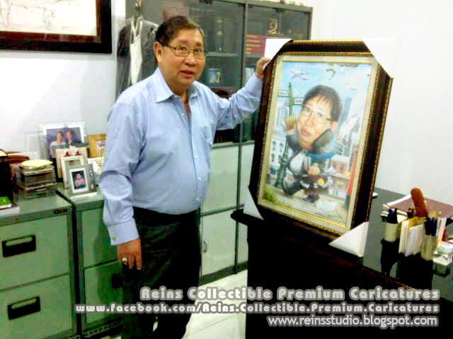 Mr Hardja and Premium Caricatures by Reinsstudio