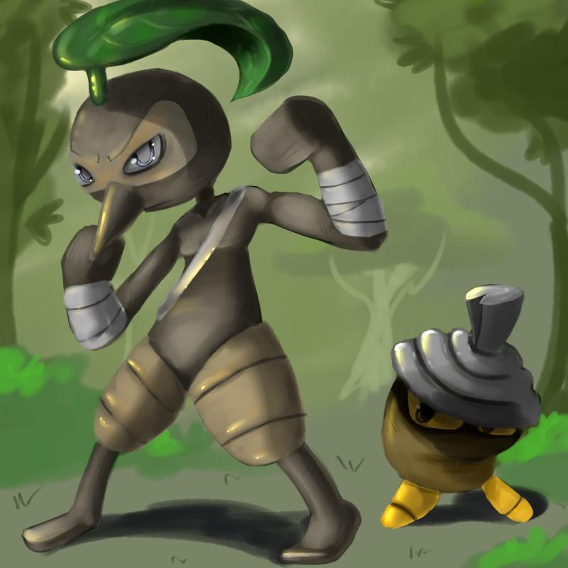 the Nut Bandits by CrazyIguana