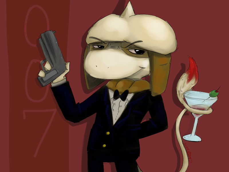 007 Smeargle by CrazyIguana