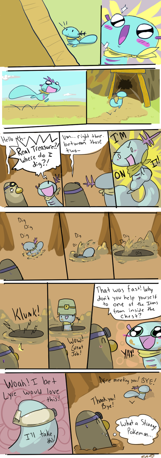 Robin and the Treasure Task by CrazyIguana