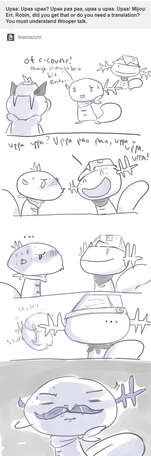 Wooper Talk by CrazyIguana