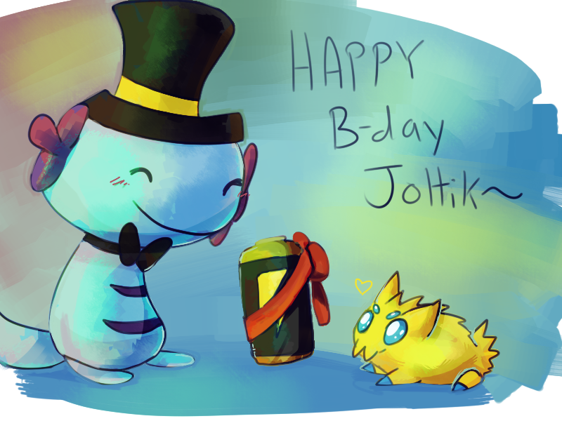 HappyBday Joltik by CrazyIguana