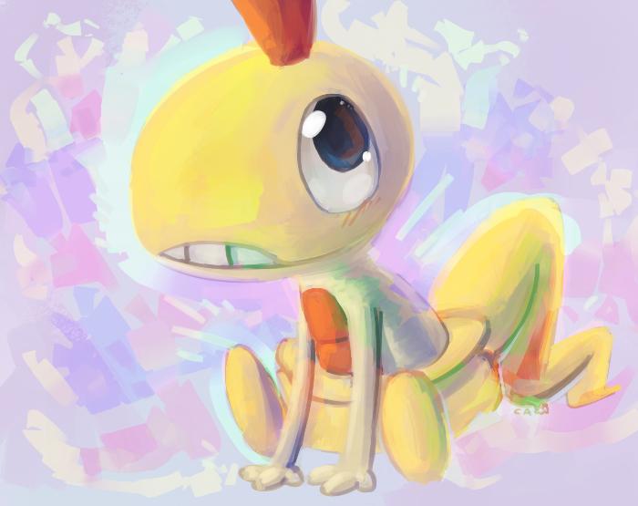 Quick Paint Scraggy by CrazyIguana