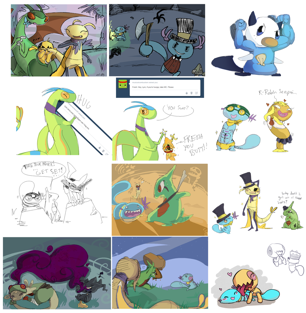 Combined Asks june 2013 by CrazyIguana