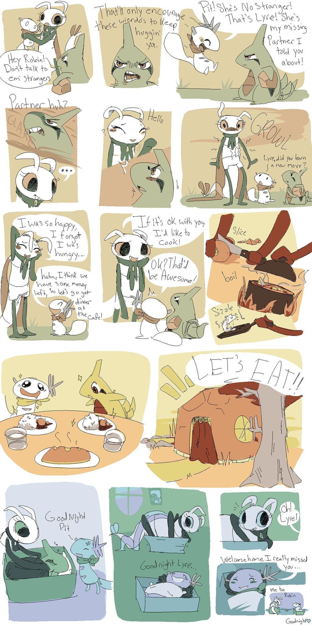 Reunite Part 3 by CrazyIguana
