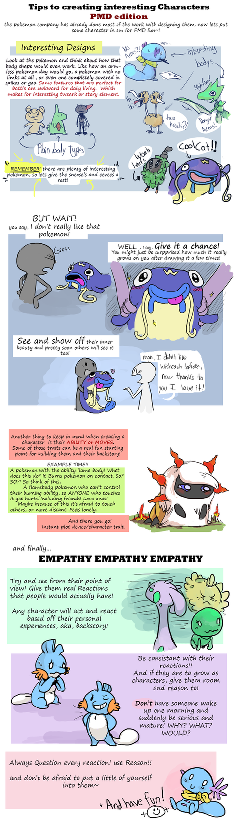 How to make Interesting Characters (pmd edition) by CrazyIguana on ...