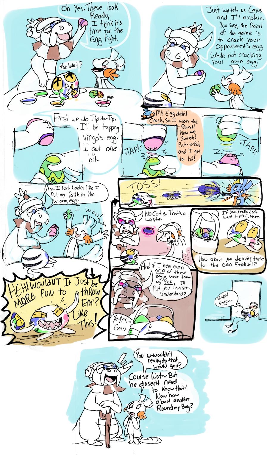 StarMap errand EggPainting by CrazyIguana