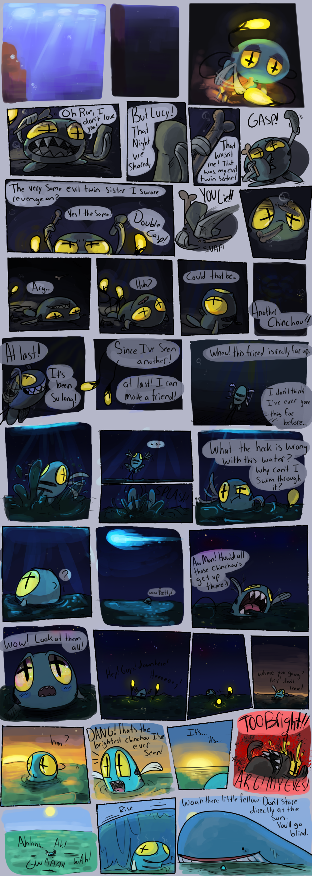 Cetus's Tail page 1 by CrazyIguana