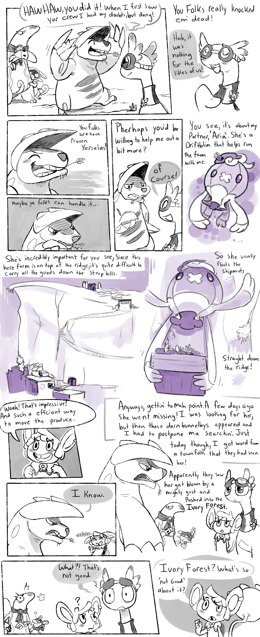Mission 1 Prologue pg2 by CrazyIguana