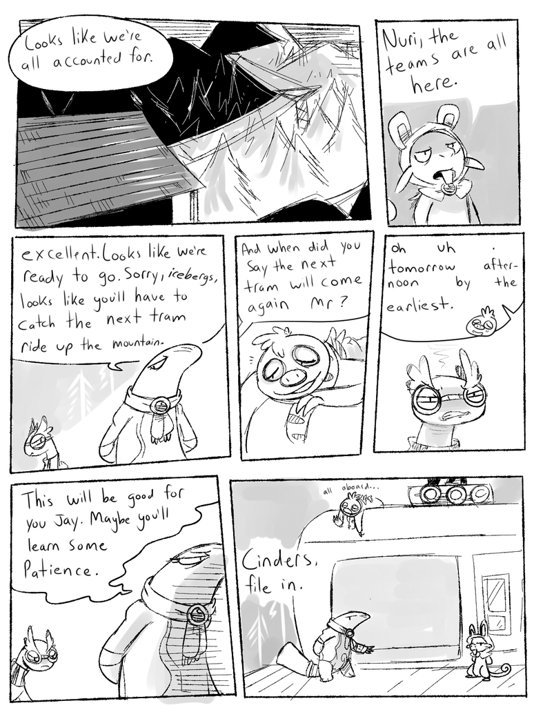Mission 2 Prologue pg1 by CrazyIguana