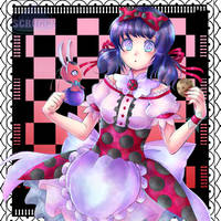 Marinette in Wonderland