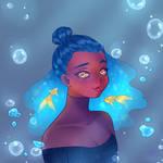Blue's Goldfish