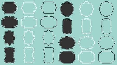 Digital frames borders pack