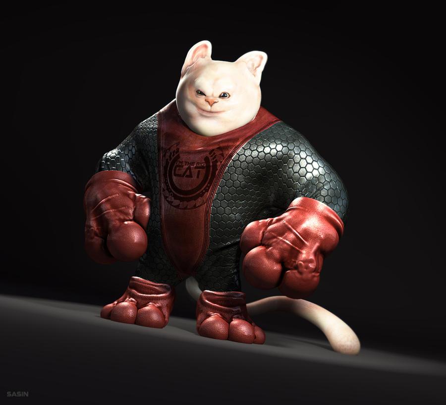 Super Cat by Sasin