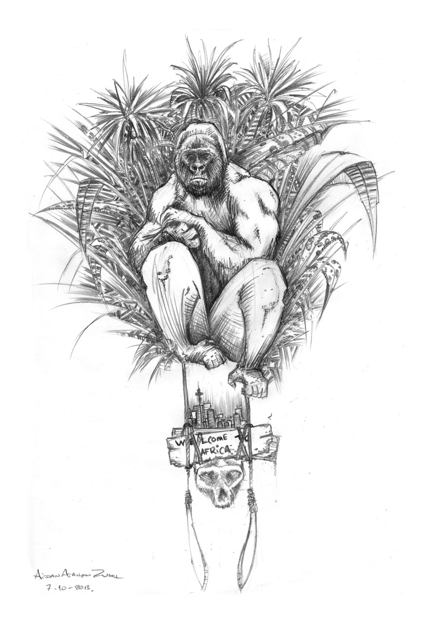 Gorilla Freestyling FB by Digital-Native-000
