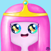 Bubblegum | Adventure Time | Fan Art