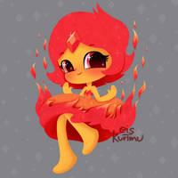 Flame Princess by eiskurimu