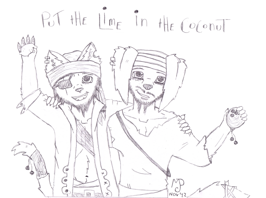 Put the lime in the coconut Pasco and Lamar by mellomeerkat