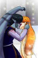 The Kiss by shivaesyke