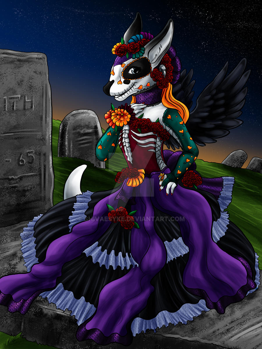 Anthemis  Day of the Dead by shivaesyke