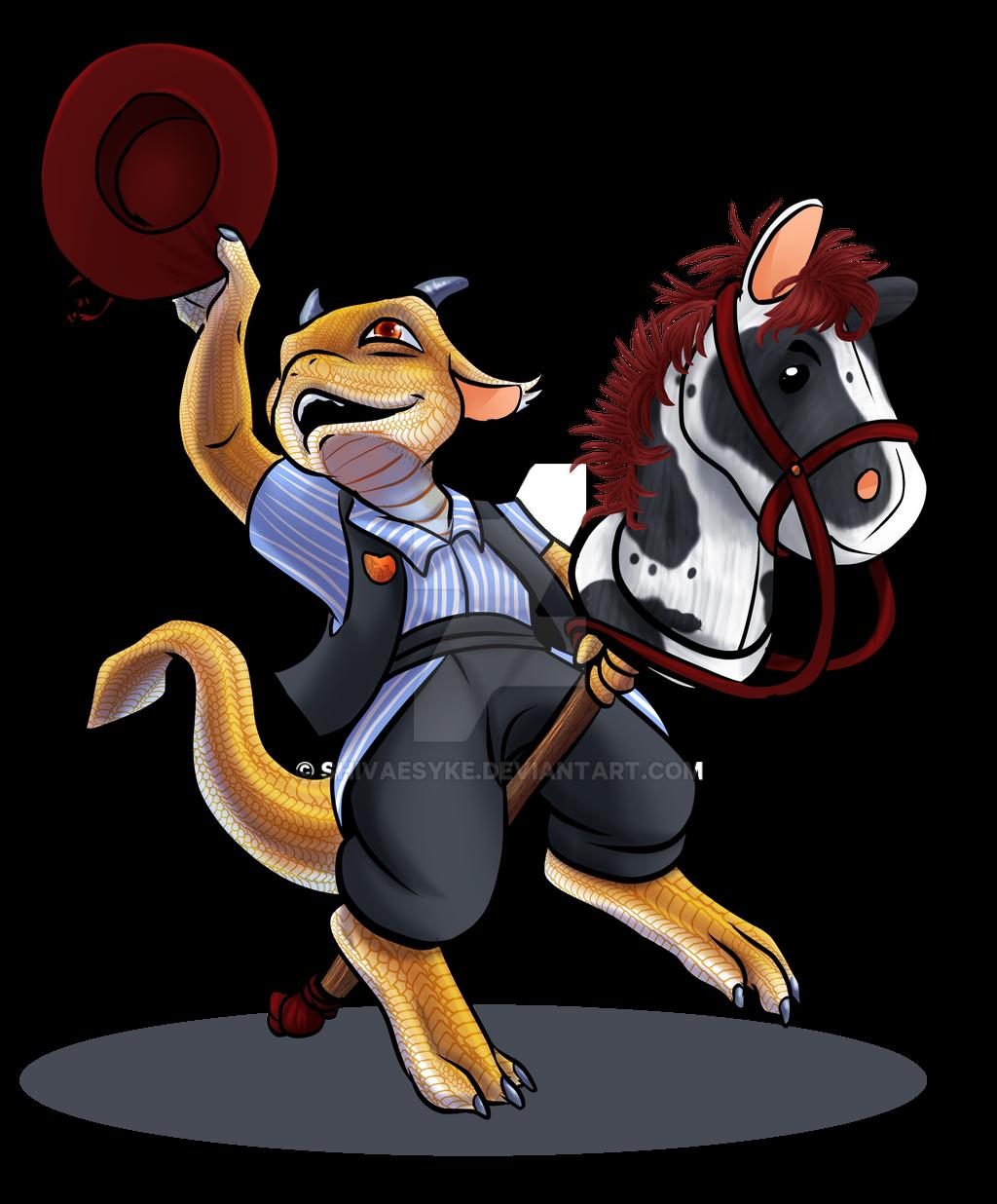Smaugust #3 - Dragon Rider by shivaesyke