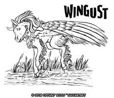 Wingust-08-Skimming-the-Water by shivaesyke