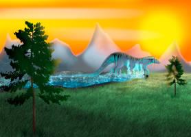 Aquajaxi - Specie Concept by Wolfano666