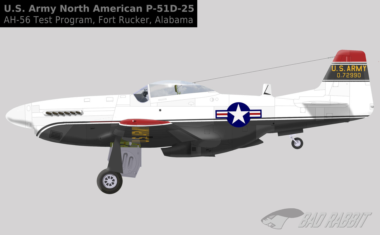 44-72990 US Army - A Mustang for the Cheyenne    by Bad
