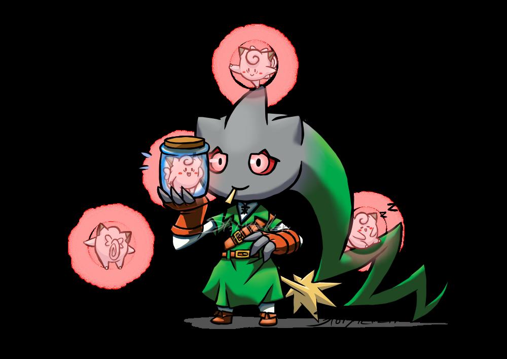Kasa Obake Pokemon