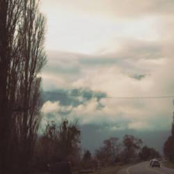 Cold road by Pedro-Perez-Pedrero