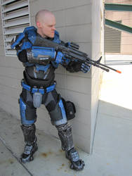 Halo cosplay. Mjolnir armor MK5 A pic 2 by philorion7