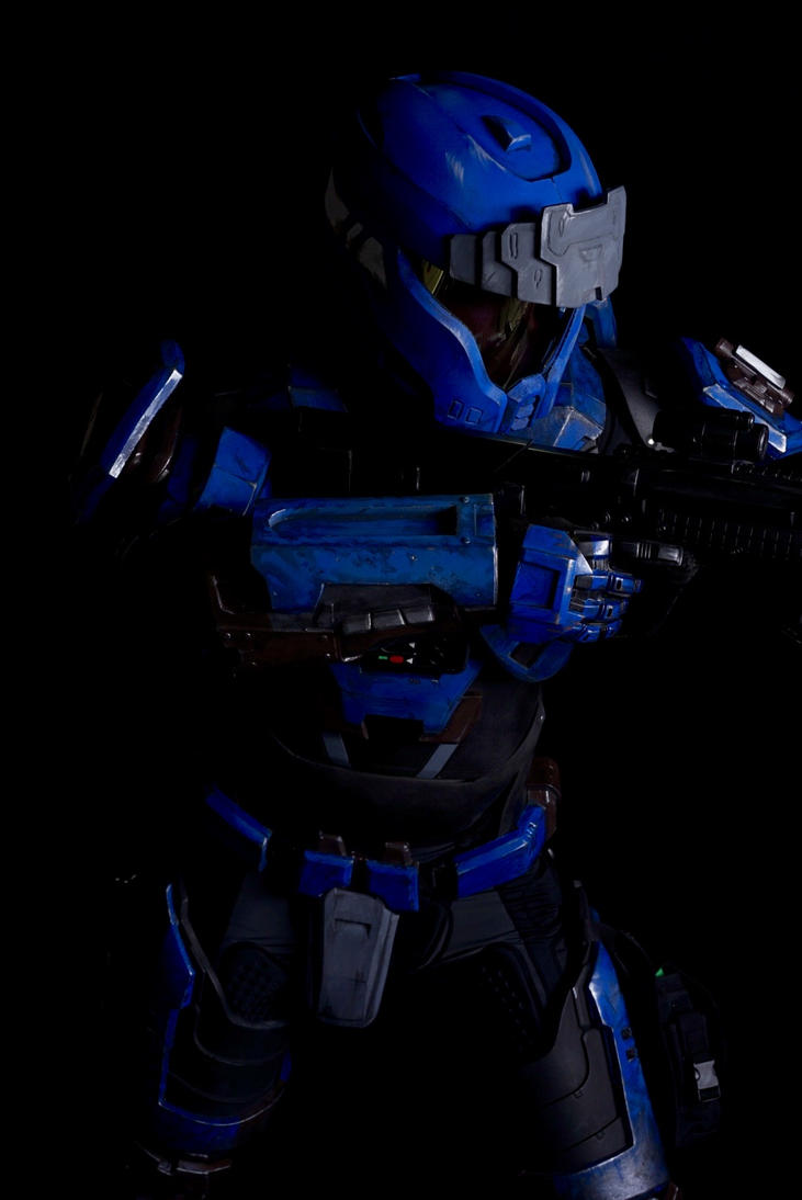 Mjolnir armor MK5 A2 modified armor. by philorion7