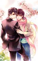 The Man Who Adores Spring by yueran