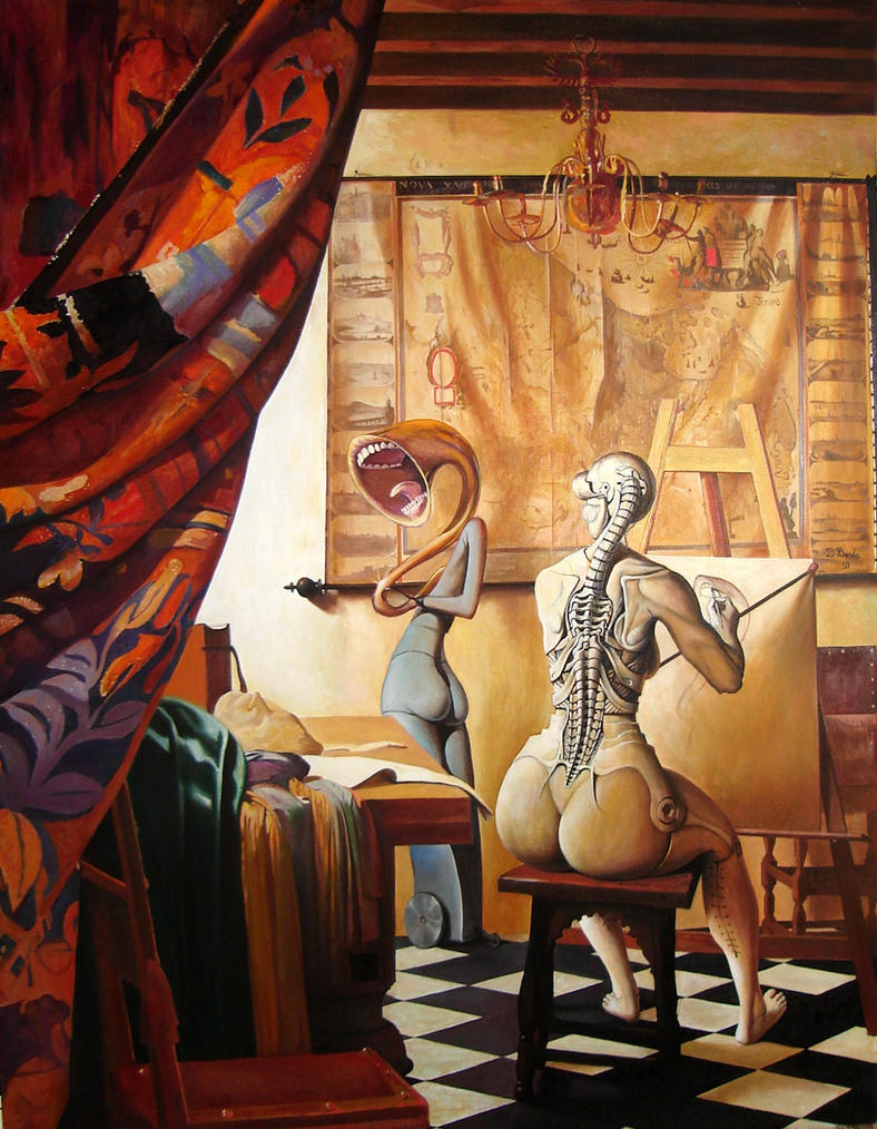 Allegory of Painting by borda