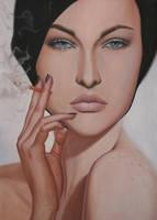 Portrait study by borda