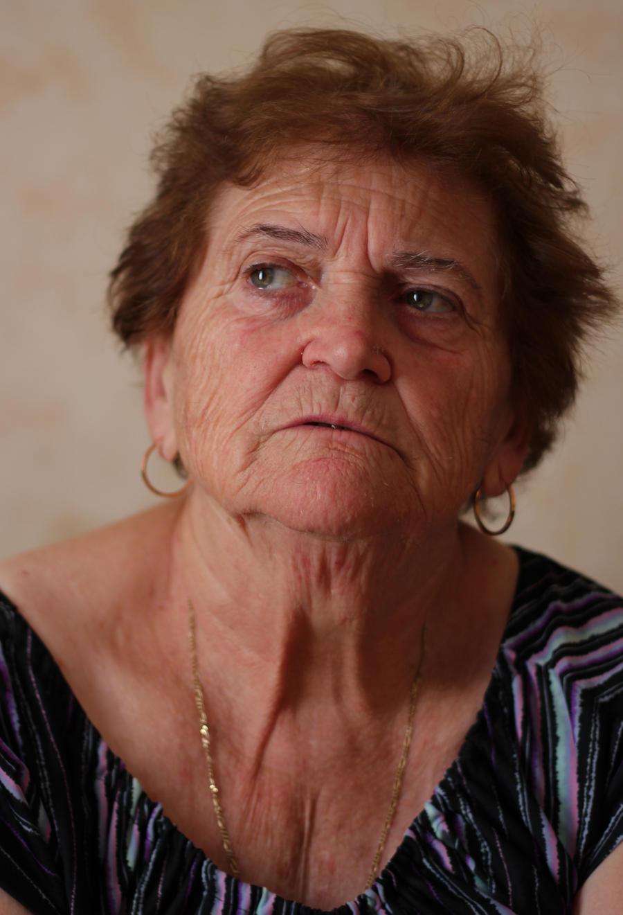Old Woman Portrait II Stock by borda