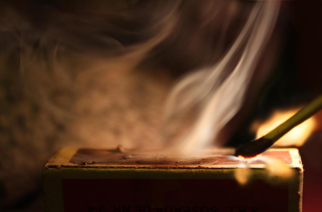 Burning Match by borda