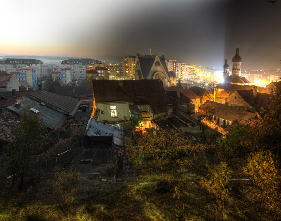 My City Over Day and Night by borda
