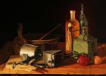 Vintage - Oil Painting Study