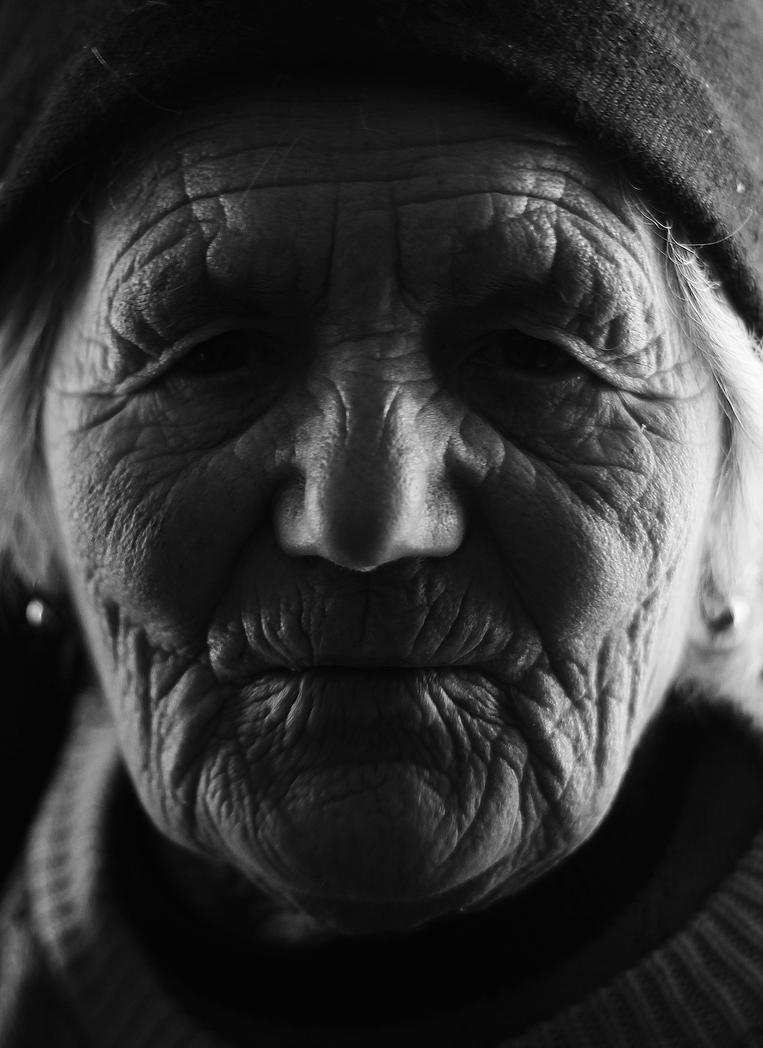 Old Woman II by borda